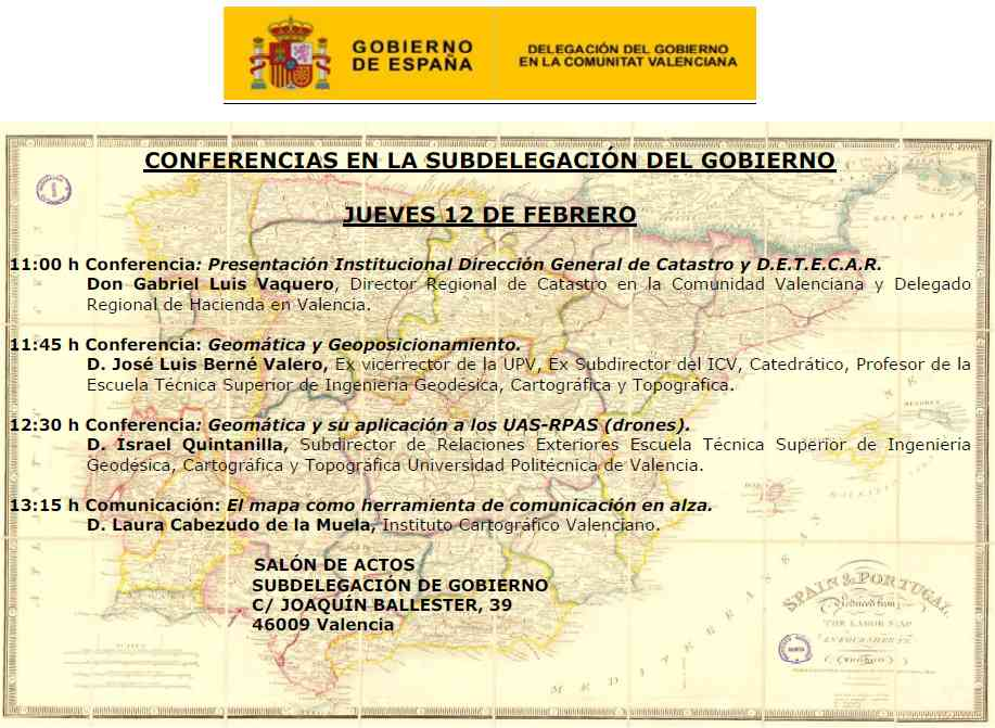 Conferencias Geomática