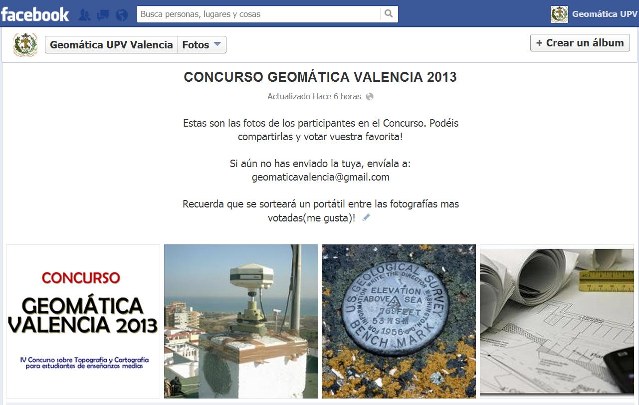 concurso geomática fb