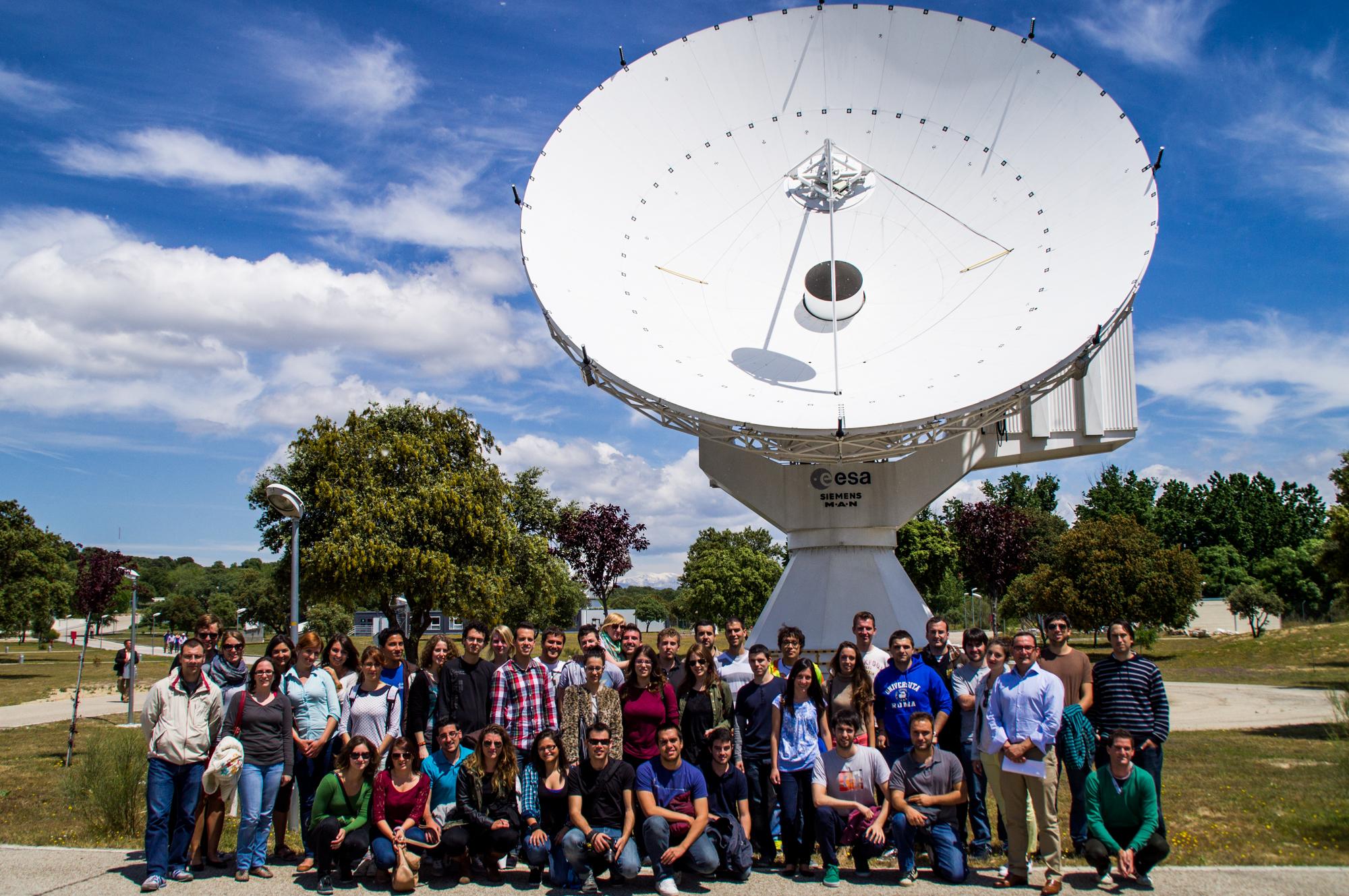 Alumnos de la ETSIGCT en la Agencia Espacial Europea
